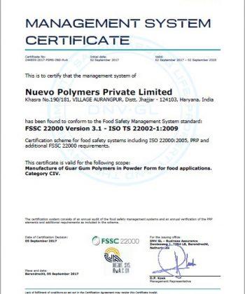 ISO FSSC 22000